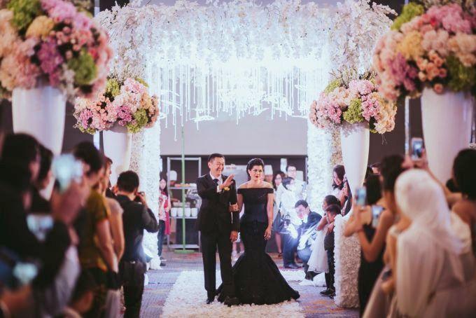 Romantic Wedding of David & Nerissa by Jennifer Natasha - Jepher - 007