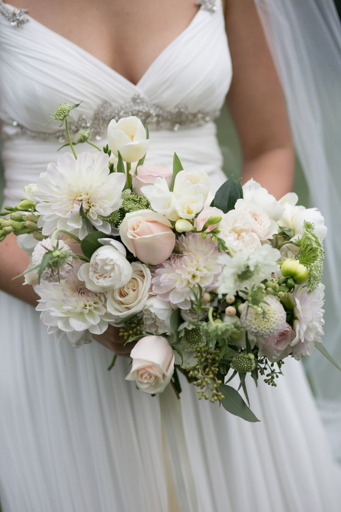 Bridal Party by Affair with George  Florals & Event Styling - 039