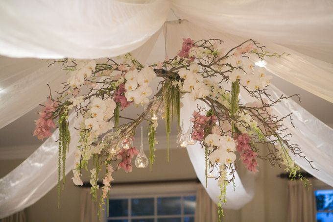 Ceremony and Reception by Affair with George  Florals & Event Styling - 008