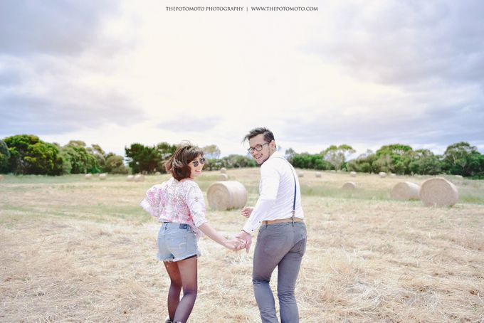 Neshia & Agra Melbourne Prewedding Day II by Thepotomoto Photography - 022