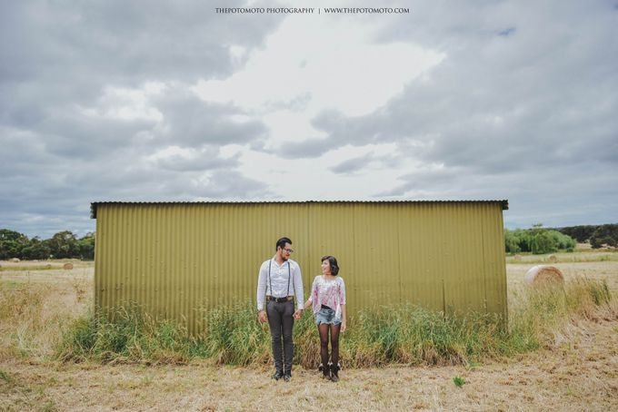 Neshia & Agra Melbourne Prewedding Day II by Thepotomoto Photography - 020