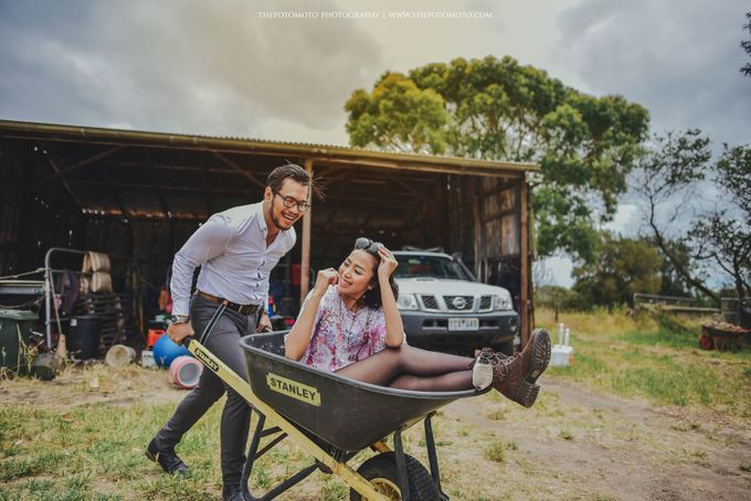 Neshia & Agra Melbourne Prewedding Day II by Thepotomoto Photography - 019