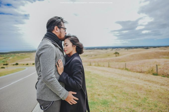 Neshia & Agra Melbourne Prewedding Day II by Thepotomoto Photography - 017