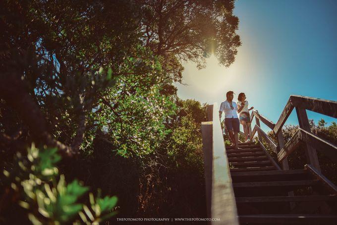 Neshia & Agra Melbourne Prewedding Day I by Thepotomoto Photography - 017