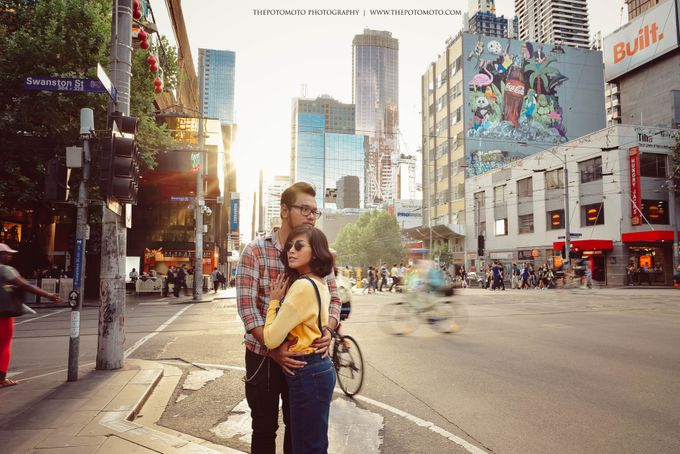 Neshia & Agra Melbourne Prewedding Day II by Thepotomoto Photography - 002
