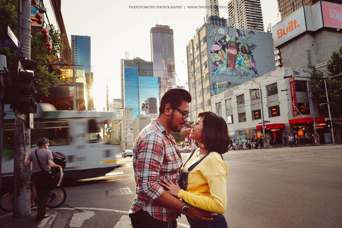Neshia & Agra Melbourne Prewedding Day II by Thepotomoto Photography - 001