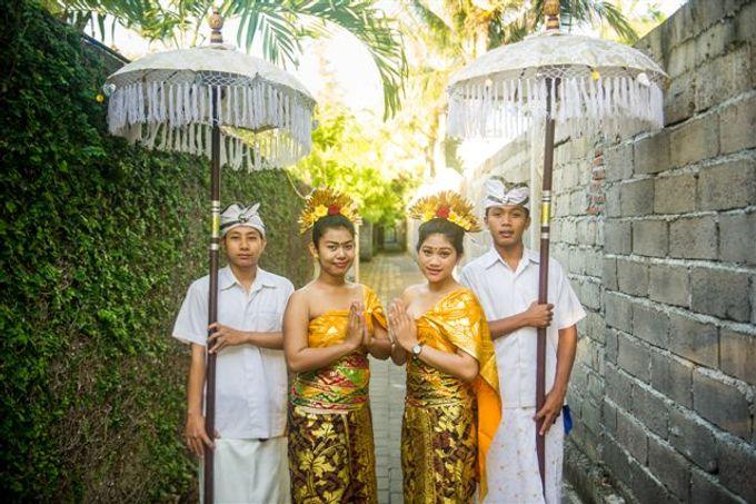 kayumanis nusa dua-beach wedding-fuschia theme by Kayumanis Private Villa and Spa - 014