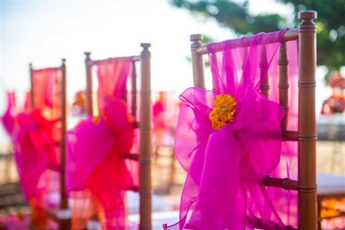 kayumanis nusa dua-beach wedding-fuschia theme by Kayumanis Private Villa and Spa - 016