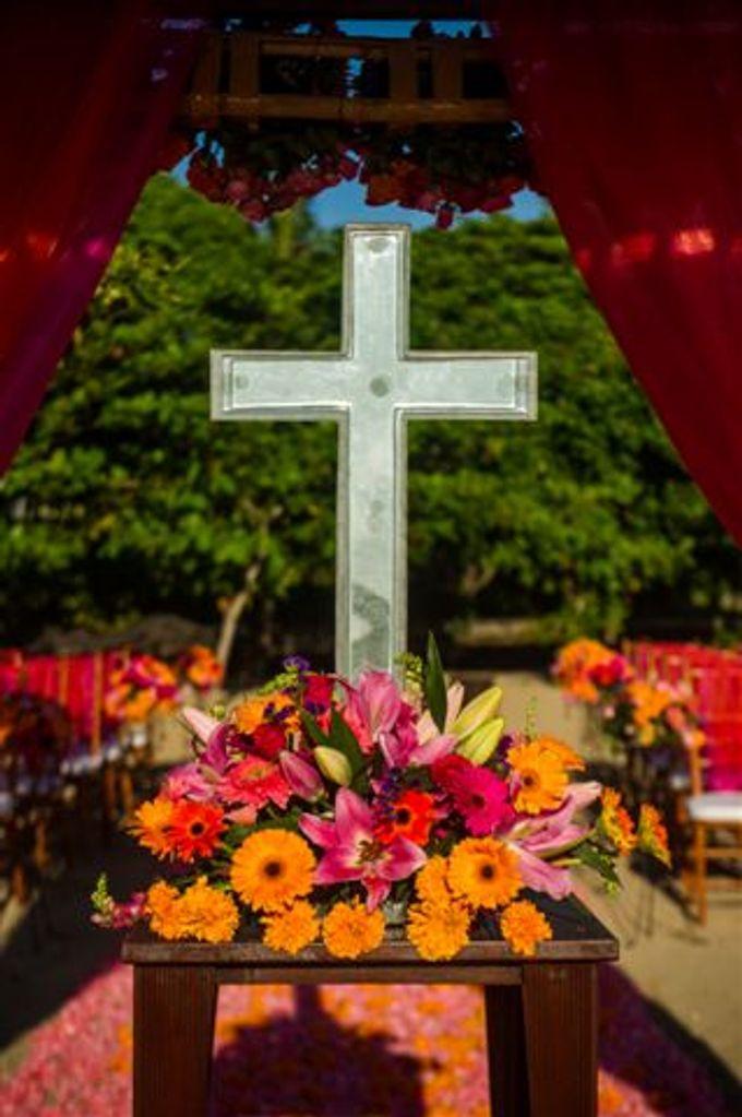 kayumanis nusa dua-beach wedding-fuschia theme by Kayumanis Private Villa and Spa - 019