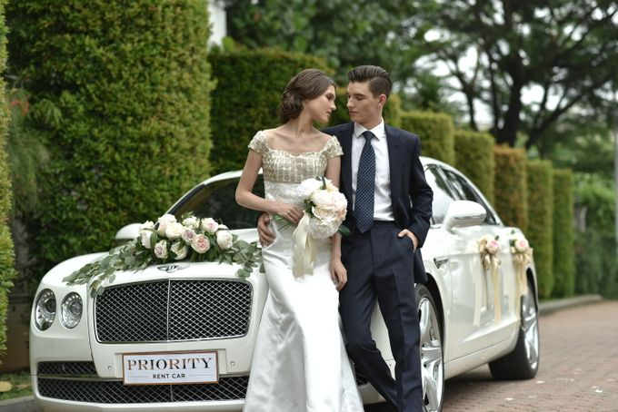 Wedding Car By Priority Rent Car by Priority Rent car - 001