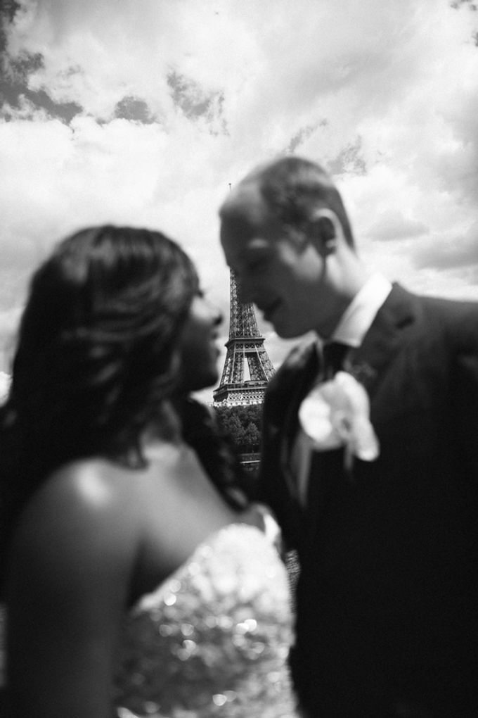 Real Wedding of Halima & Michael by Luxe Paris Events - 003