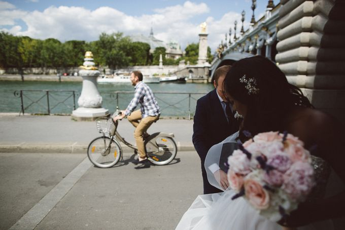 Real Wedding of Halima & Michael by Luxe Paris Events - 006