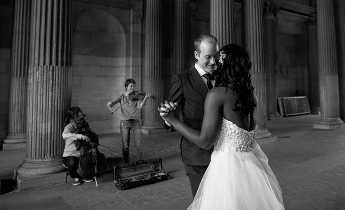 Real Wedding of Halima & Michael by Luxe Paris Events - 008
