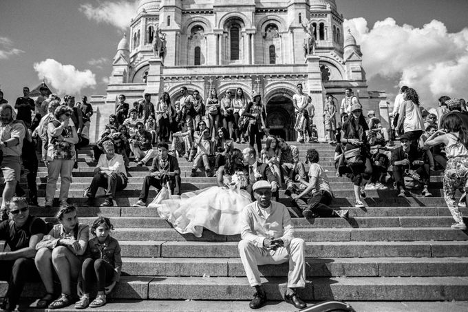 Real Wedding of Halima & Michael by Luxe Paris Events - 009