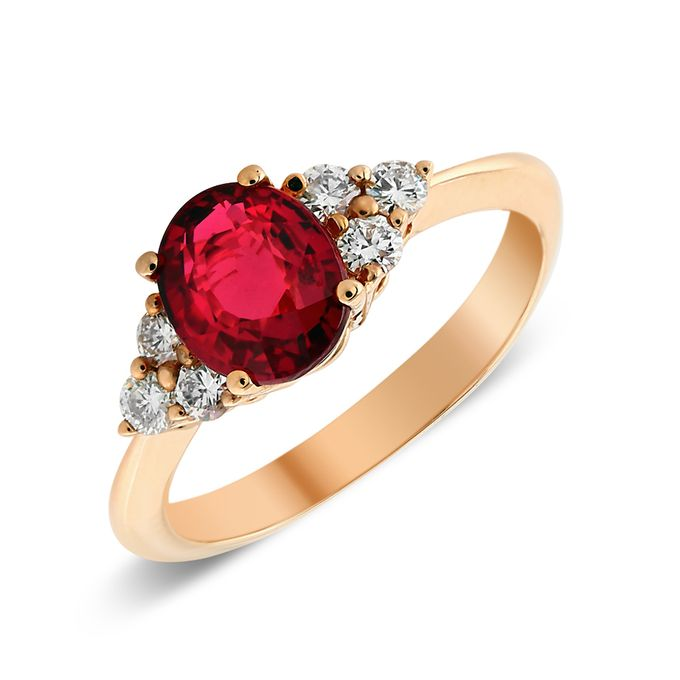 MT Gemstone & Fancy Diamond Rings by Michael Trio - 007