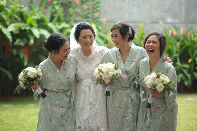 Bridesmaids Robes for CA Wedding Jakarta by Serendipicky - 002