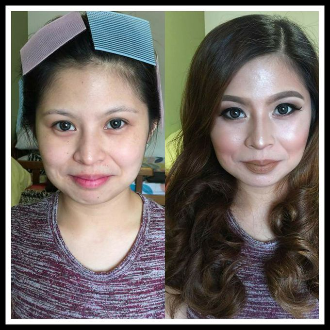 makeup trial with shine go by makeupbynievz - 001