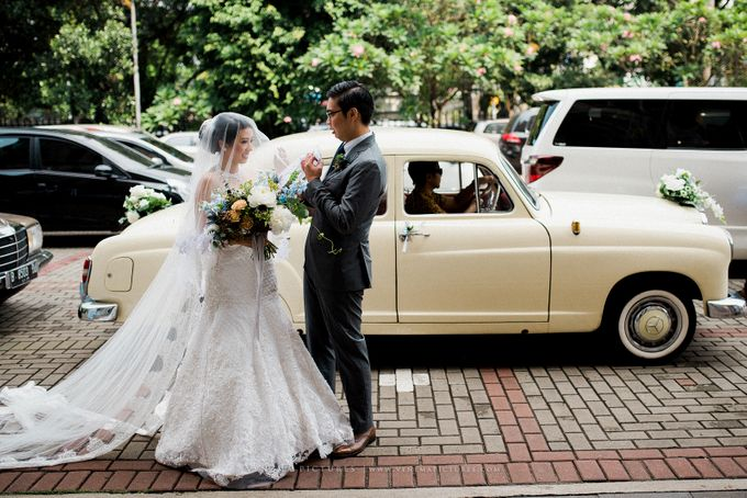Max & Melissa Wedding Gedung Arsip Jakarta by Twigs and Twine - 001