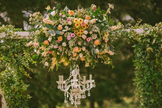 Ceremony and Reception by Affair with George  Florals & Event Styling - 026