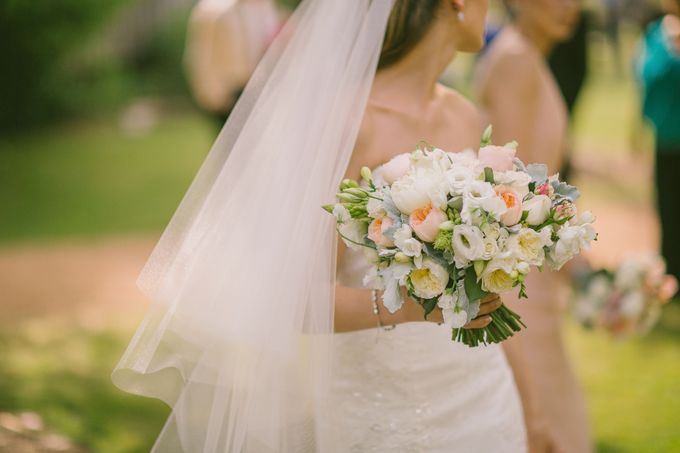 Bridal Party by Affair with George  Florals & Event Styling - 014