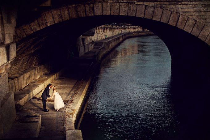 Paris Pre Wedding by Vey Gallery - 003