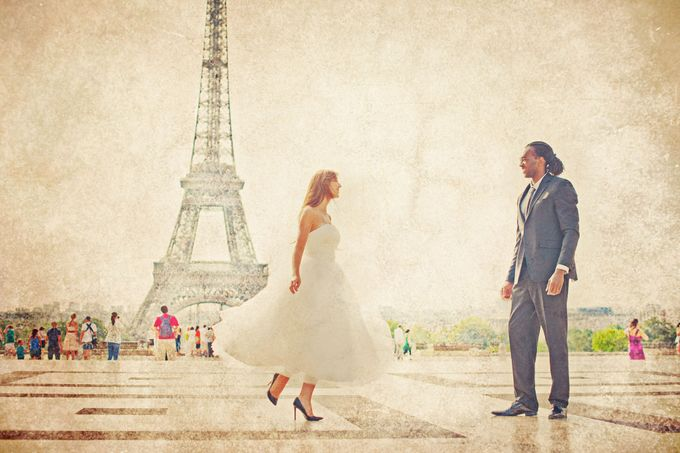 Paris Pre Wedding by Vey Gallery - 004