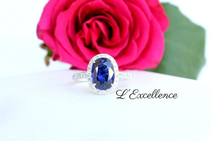 Engagement & Wedding Anniversary Rings by L'Excellence Diamond - 004