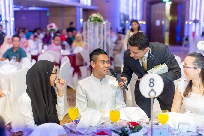 Malay Wedding Extraordinaire Celebration - Daniaal & Suhaila by Born2talk - 013