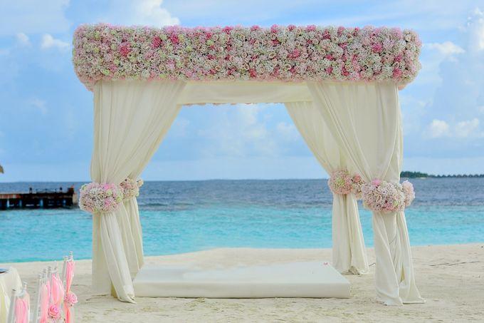 Amy & David's Dream Destination Wedding in Maldives. by Asad's Photography - 011