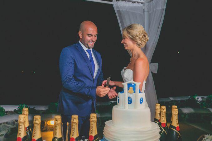 Romantic elegant wedding in Santorini by MarrymeinGreece - 004