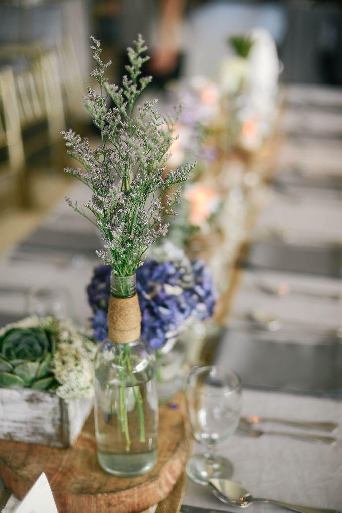 Rustic Lavander Wedding by MR Villar Photography - 046