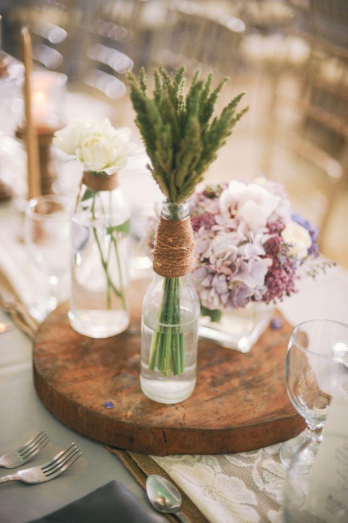Rustic Lavander Wedding by MR Villar Photography - 041