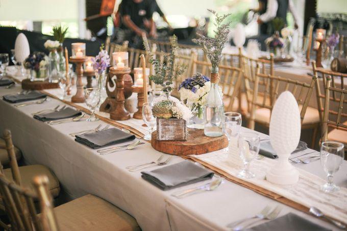 Rustic Lavander Wedding by MR Villar Photography - 047