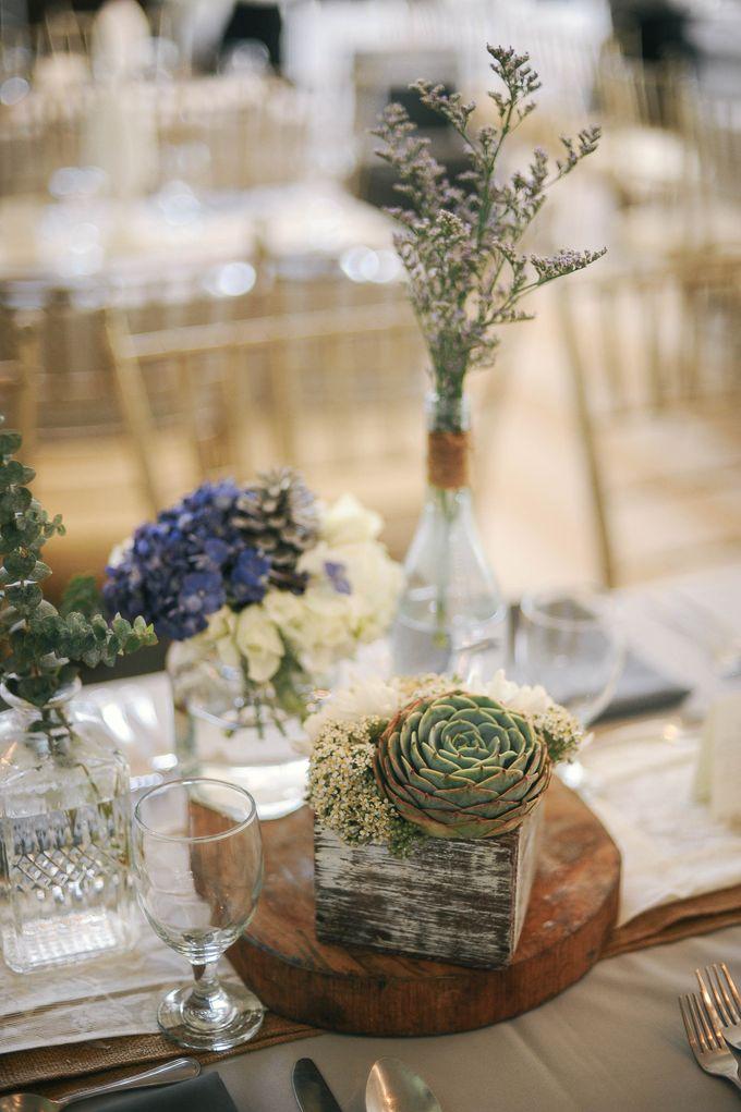 Rustic Lavander Wedding by MR Villar Photography - 030