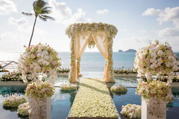 Luxury wedding of Vicky & Song at Conrad Koh Samui by BLISS Events & Weddings Thailand - 001
