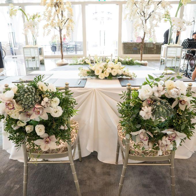 A White London Wedding by C. C. Lee Designs - 001