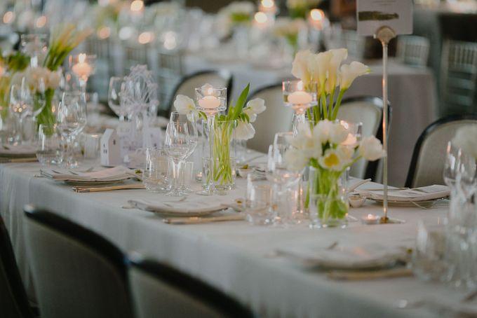 A White London Wedding by C. C. Lee Designs - 005