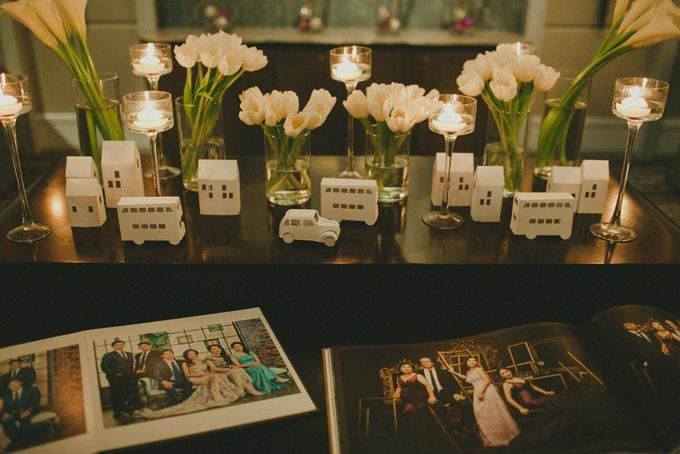 A White London Wedding by C. C. Lee Designs - 008