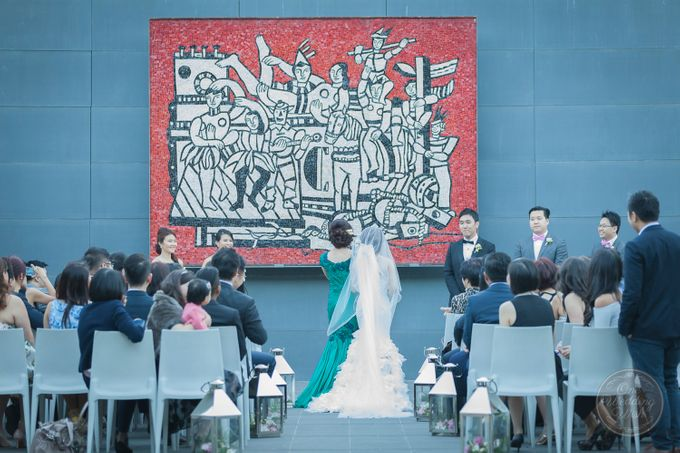 Sze & James at Persimmon Melbourne by One Wedding Wish - 001