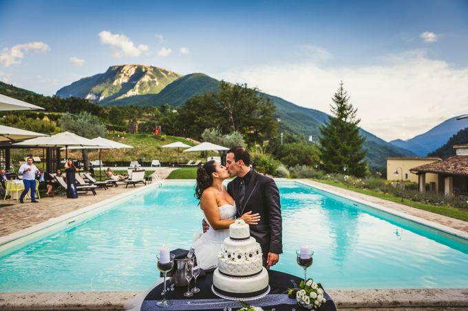 Modern and romantic Wedding by My Wedding Planner in Italy - 014