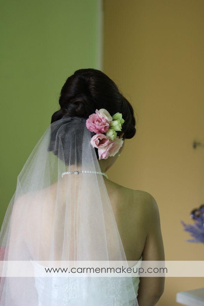 Brides Actual Day by Carmen Makeup & Hair - 013