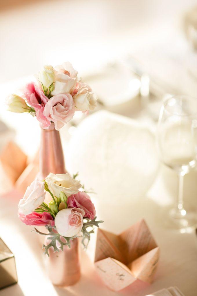 Peachy Pink by Tirtha Bridal - 008