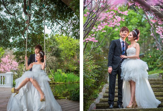 Pre wedding in Taiwan by ES Creation Photography - 004