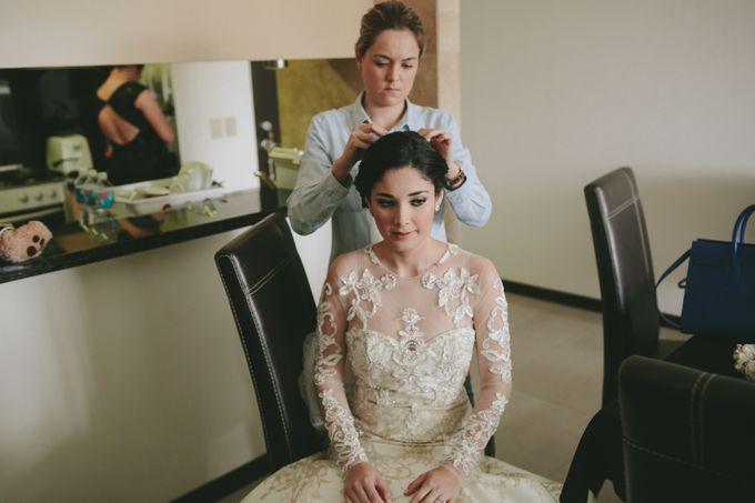 Brides hair and Makeup by PAU AMUTIO MAKE-UP ARTIST - 001