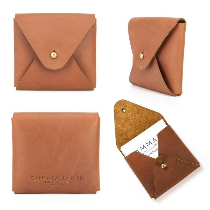 Card holder by GAMMARA LEATHER SOUVENIR - 001