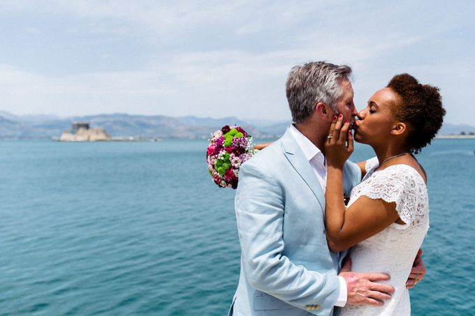 Civil Afro American wedding in Nafplio by MarrymeinGreece - 032