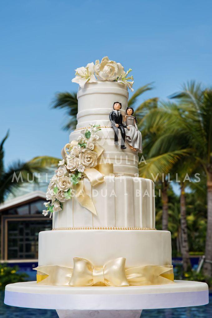 The Mulia Bali Wedding Cake by The Mulia, Mulia Resort & Villas - Nusa Dua, Bali - 001