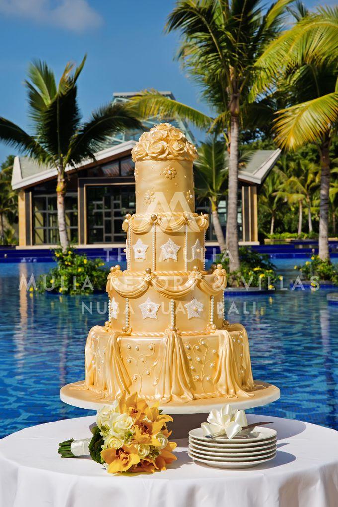 The Mulia Bali Wedding Cake by The Mulia, Mulia Resort & Villas - Nusa Dua, Bali - 002