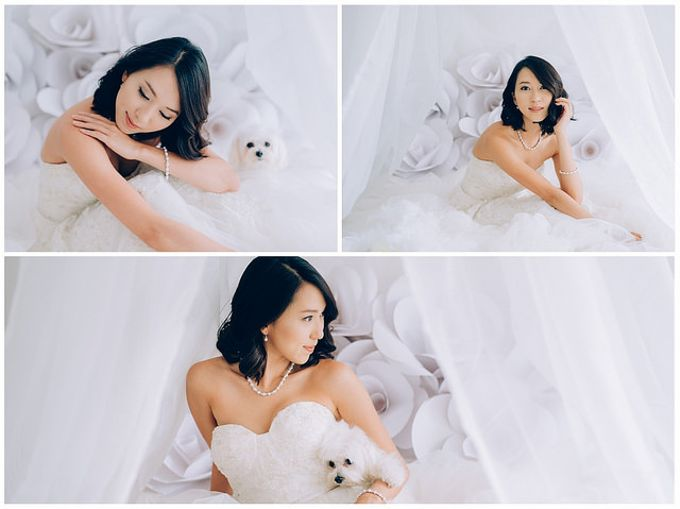 A White Wedding Styled shoot by TangYong Hair & Makeup - 002