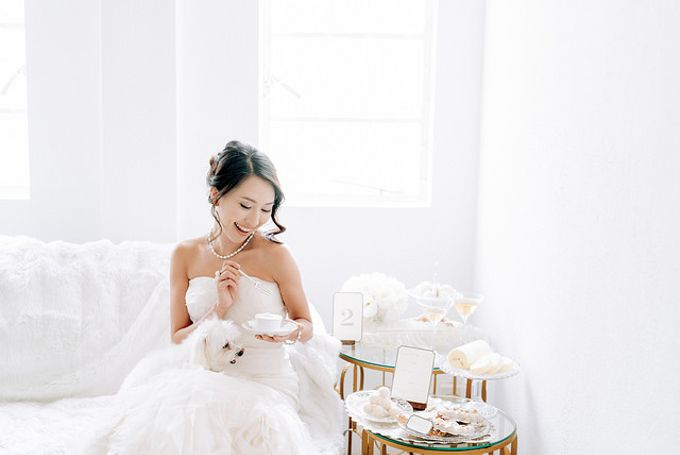 A White Wedding Styled shoot by TangYong Hair & Makeup - 009